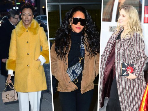Celebs Flaunt Brand New Bags from Chloé and Valentino