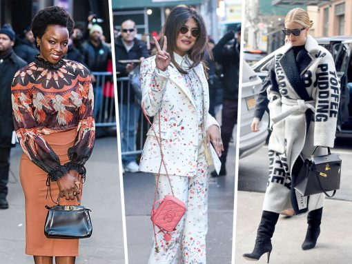 Models Carry Gucci, Hermès and Chanel During NYFW Prep