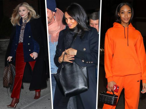 Celebs Migrate to Milan with MCM, Gucci and Burberry