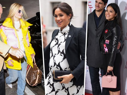 Celebs Slink Around with Bags from Hermes, Stella McCartney, Others