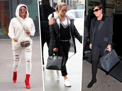 Celebs Party Down with Hermès, Gucci and Oscar de la Renta