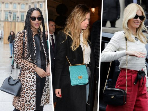 PFW Ends with Louis Vuitton and Chanel Bags Galore, Of Course