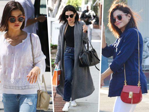 The Many Bags of Jenna Dewan