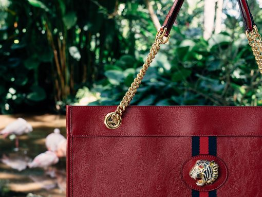 A Close Look at Gucci's New Slim, Sleek Everyday Tote