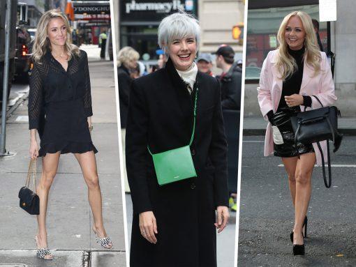 Celebs Not Attending Coachella Carry Chanel, Celine and Jil Sander