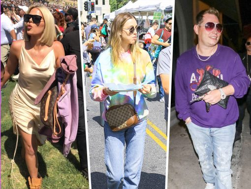 Celebs Celebrate Easter and Coachella with Bags from Celine, Louis Vuitton and More