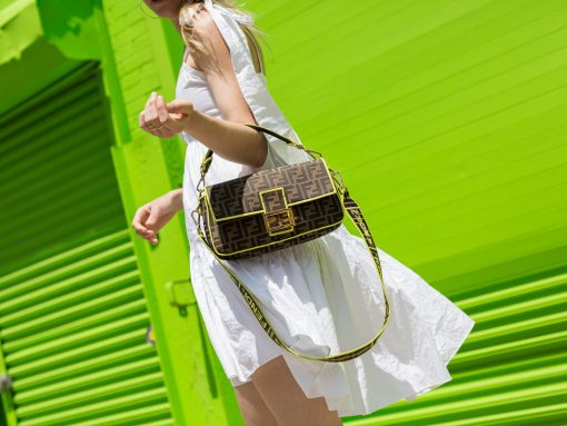 A Close Look at the Fendi Roma Amor Baguette Bag