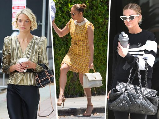 Celebs Contemplate Sudden Career Changes with Bags from Chanel and Dior