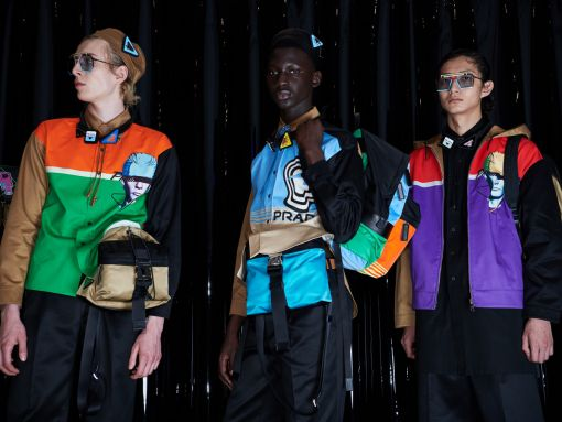 A Look at Bags From Prada's Spring/Summer 2020 Menswear Show
