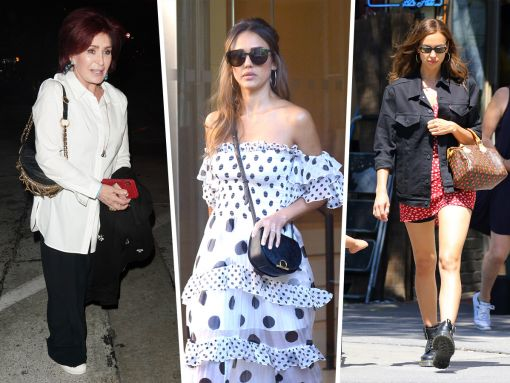 Celebs Step Into the Sun with Bags from Fendi and Chanel