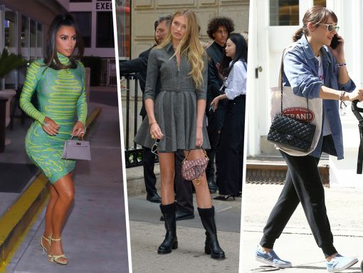Celebs Pivot to Paris Couture Week with Bags from Dior