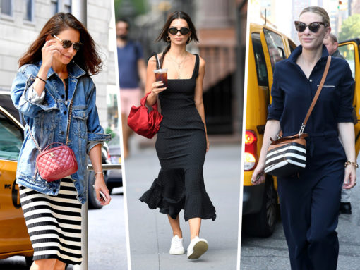 Celebs Promote Exciting New Projects with Bags from Loewe, BOYY and Chanel