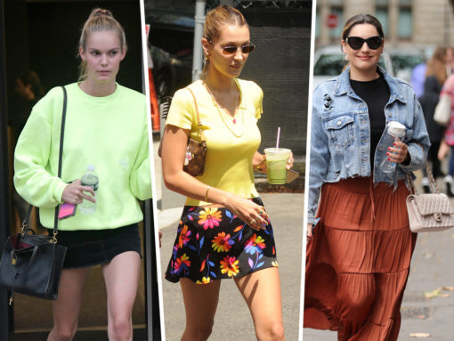 Celebs Do a 90s Redux with Bags from Louis Vuitton, Marc Jacobs and Saint Laurent