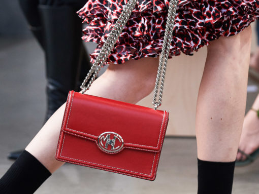 Michael Kors Bets Heavy on New Logo Hardware for Its Collection Spring 2020 Bags