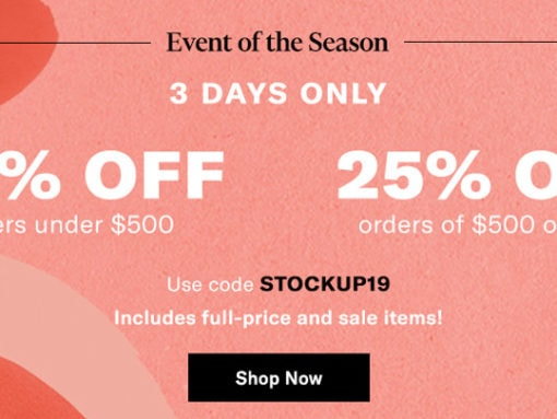 Shopbop's Event of the Season is Here and My Cart is Overflowing