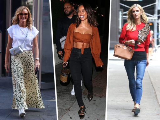 Celebs Look Extra Fresh with Louis Vuitton, Valentino and Chloé