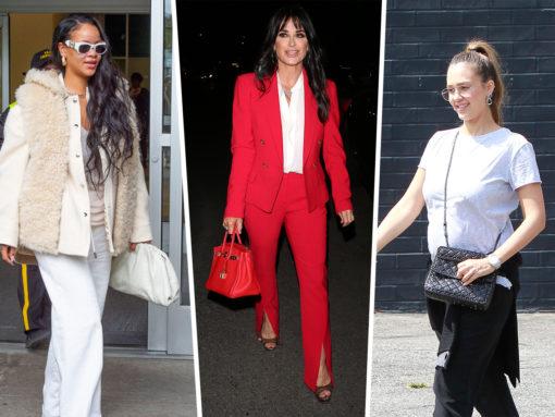 Rihanna Carries Dior and Bottega Veneta on the Same Day