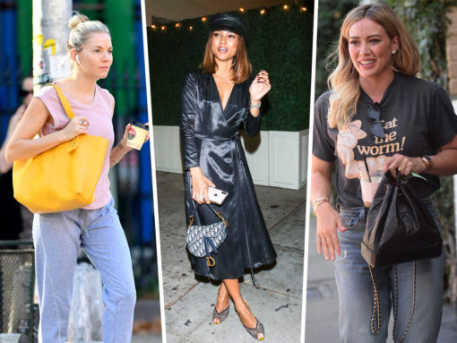 Back in the U.S., Celebs Step Out with Chanel, Frame and Dior