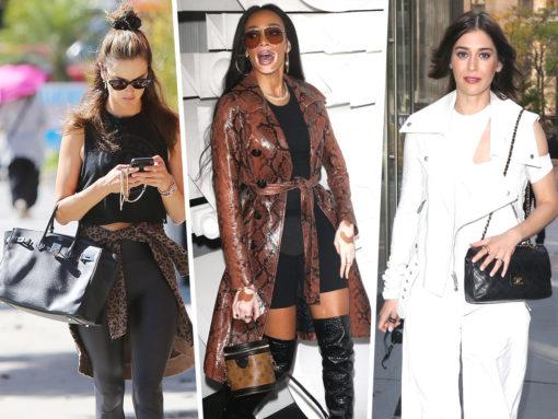 Celebs Favor Balmain, Hermès, Oscar de la Renta and More