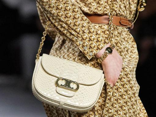 For Celine's Spring 2020 Bags, Hedi Slimane Focuses On Its Triomphe Logo