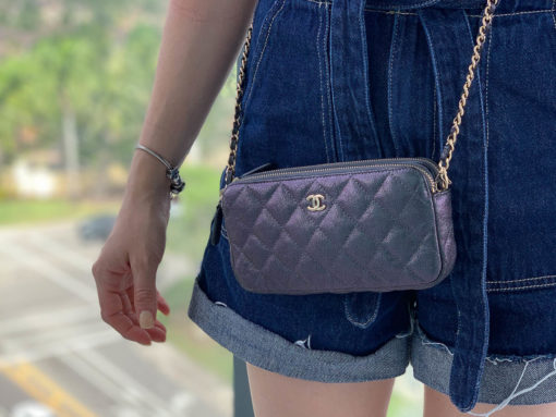 Purseonals: Chanel's Clutch with a Chain
