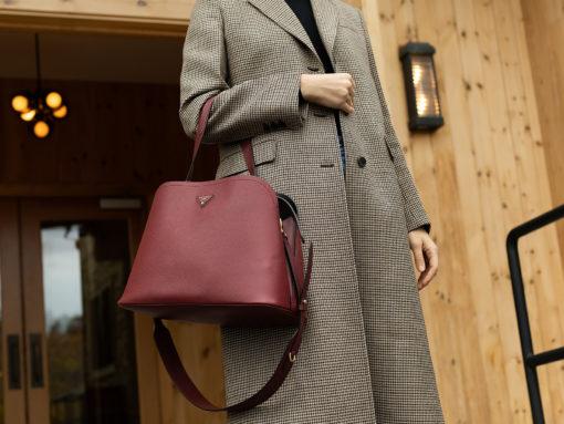 A Fall Getaway with the Prada Matinée Bag