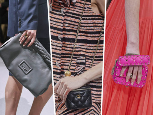 Micro Bags and Clutches Took Over the Spring 2020 Runways