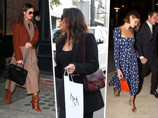 Celebs Start Their Holiday Shopping with Bags from Saint Laurent, Hermès and Medea
