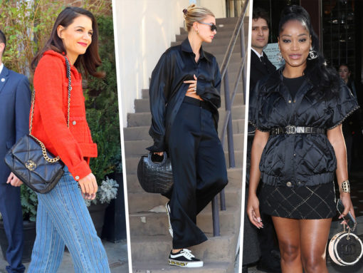 Your Fave Celebs are Really Excited to Carry Chanel