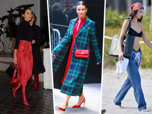 Celebs Admire Modern Art/Party with Dior, Fendi and Prada in Miami