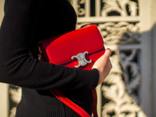 A Close Look at the Celine Triomphe Bag