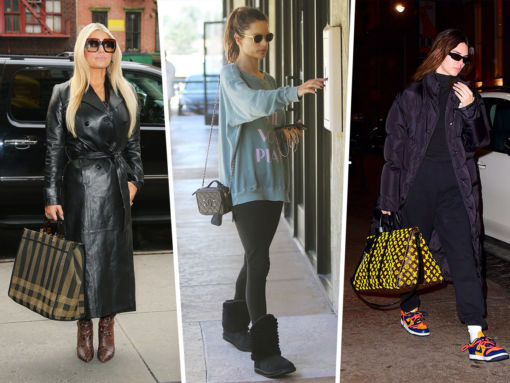 Celebs, Models and Influencers Carry Fendi, Longchamp and Chanel During NYFW