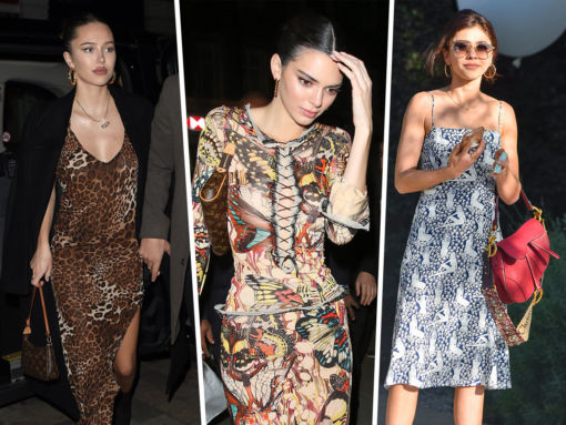 Celebs Look to Louis Vuitton and Dior for Valentine's Day and London Fashion Week