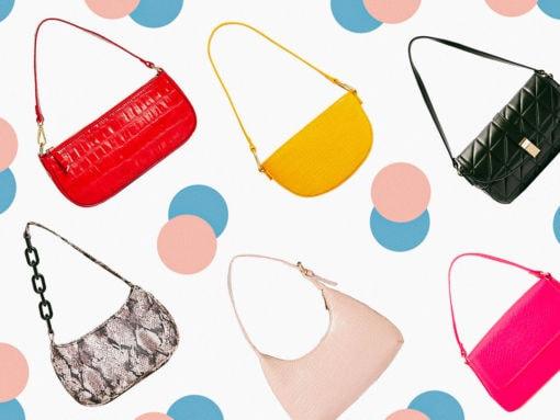 Our Favorite '90s Shoulder Bags Under $200