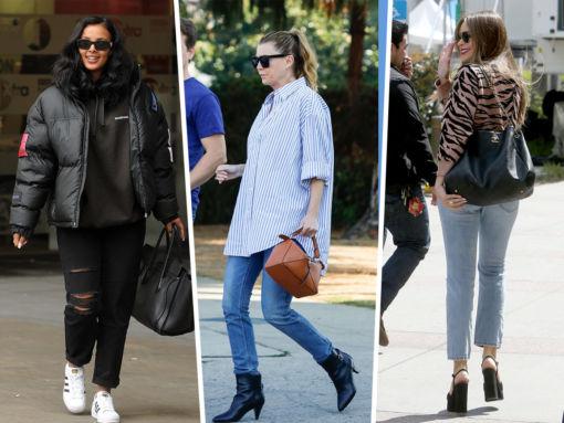 Celebs Flaunt Celine, Chanel and Gabriela Hearst