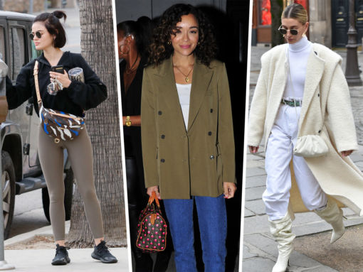 Celebs Carry a Lotta Louis Vuitton to Paris Fashion Week
