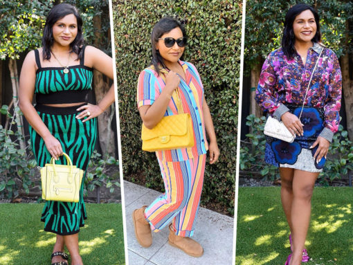 The Many Bags of Mindy Kaling As Seen On Instagram