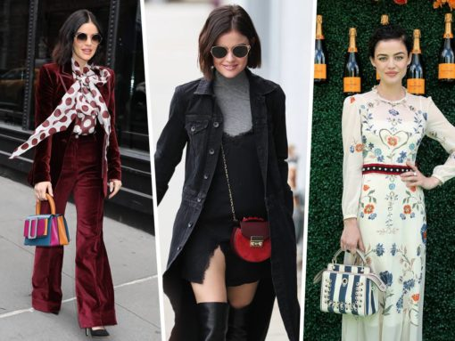 The Many Bags of Lucy Hale
