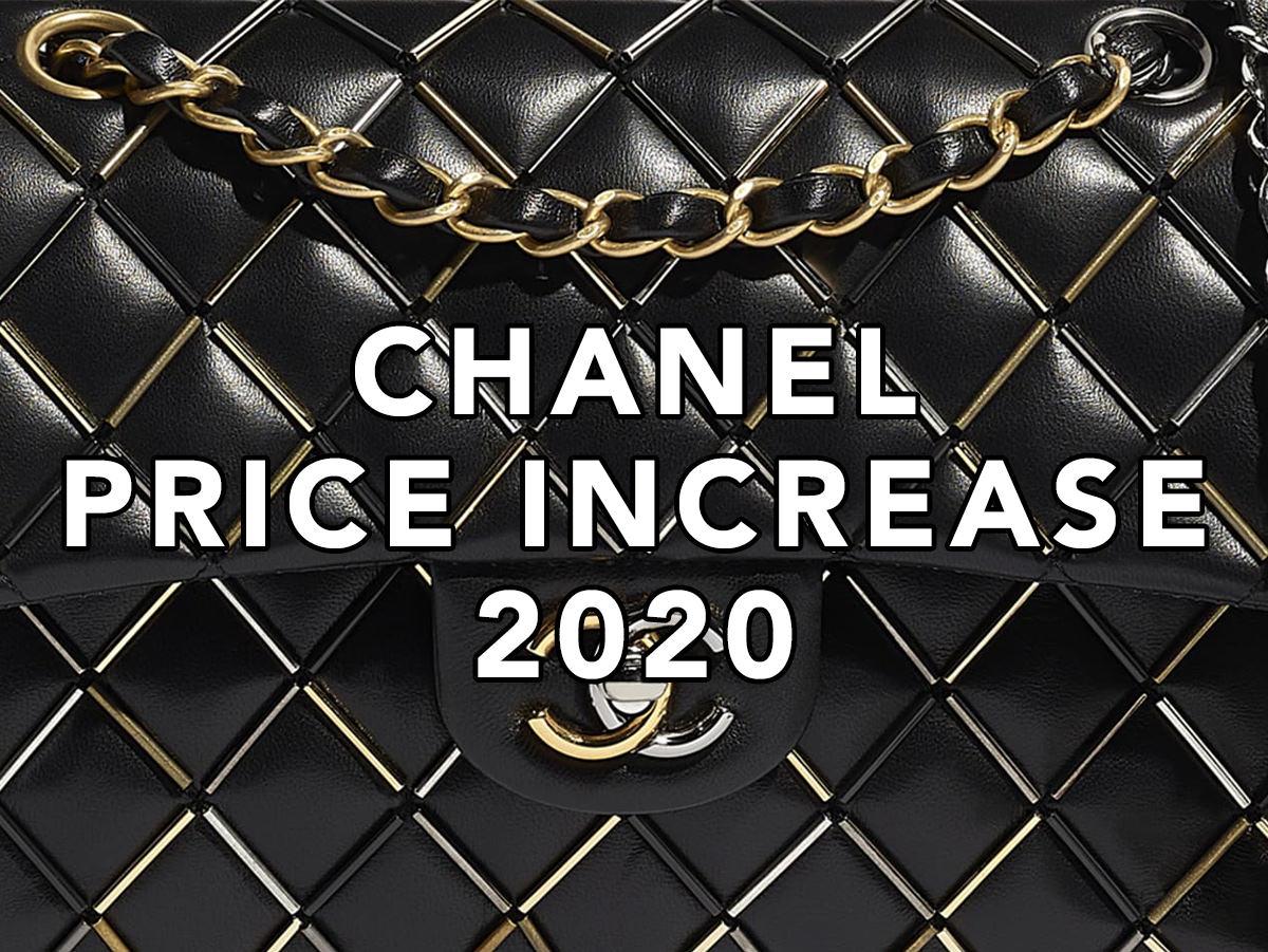 Chanel Bag Price Increase 2020