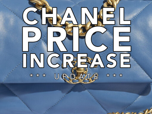 Chanel Price Increase 2020: The New U.S. Prices