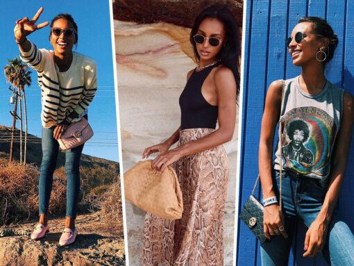 The Bags of Jasmine Tookes As Seen On Instagram
