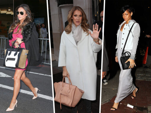 Throwback Thursday: Celebs and Their Celine Luggage Totes