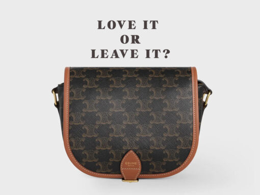 Love It or Leave It: Celine Triomphe Canvas