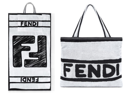 This Fendi Tote Doubles As a Beach Towel and I'm Here for It