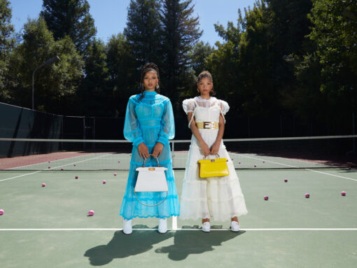 Chloe x Halle Are the Newest Faces of Fendi's MeAndMyPeekaboo Series