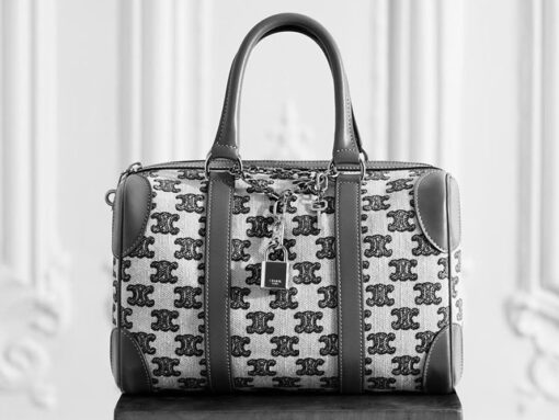 Celine's New Triomphe Embroidered Bags Are the Perfect Fall Accessory