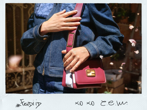 Fendi Introduces Personalization Service