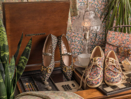Gucci Collaborates with Liberty on the Ideal Retro Yet Modern Collection