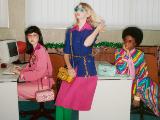 Gucci Reimagines Its Marmont Bags for Holiday 2020