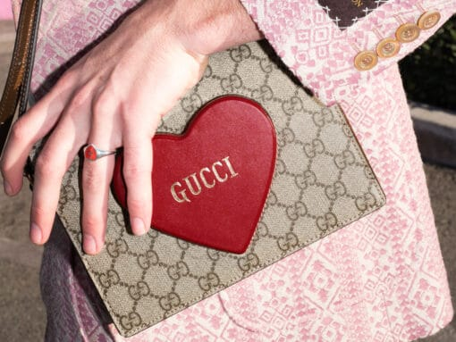 We've Got Heart Eyes for Gucci's Newest Bag